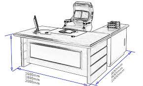 Student Desk Dimensions 24 Awesome Office Desks Measurements Yvotube Com