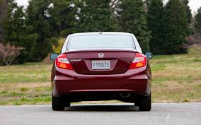 honda civic rear 2012 honda civic reviews and rating motor trend