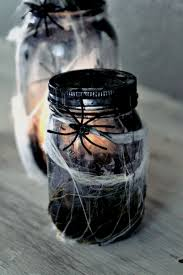 halloween glass jars diy halloween decorating ideas u0026 projects u2022 the budget decorator