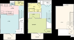 1 Bedroom Garage Apartment Floor Plans by Floorplans Legacy Brooks Apartments