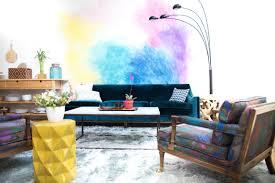 mr kate diy watercolor mural wall share