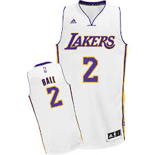 lonzo ball jersey authentic womens youth gold purple pink