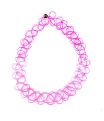 choker necklace pink images Tattoo choker necklace pink tibbs bones jpg