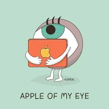 is funtastic meaning of apple of my eye