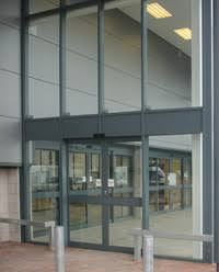 Curtains For Entrance Door Axis Automatic Systems Curtain Walling And Aluminium Shopfronts
