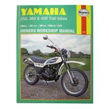 workshop manual yamaha dt250 75 79 rt360 70 73 dt360 dt400 74