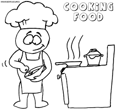 different food coloring pages coloring pages to download and print