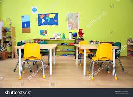 Preschool Classroom Floor Plans Kindergarten Preschool Classroom Interior Stock Photo 129865004