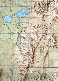 Oregon Topographic Map by Steens Mountain Topo Map Steens Mountain Oregon U2022 Mappery