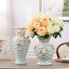 floor vases home decor ceramic hollow white flowers vase home decor large floor vases for