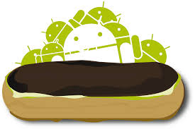 android 2 0 1 eclair logopedia fandom powered by wikia - Android Eclair