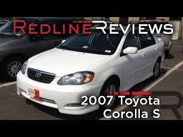 how much is a toyota corolla 2007 toyota corolla s review walkaround start up test drive