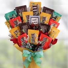 fathers day baskets day m m s candy bouquet