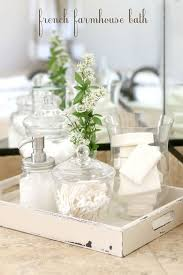 bathroom countertop decorating ideas farmhouse bath decor inspired baths bath decor and bath