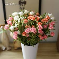 Home Flower Decoration Compare Prices On Silk Flower City Online Shopping Buy Low Price