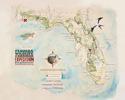 Panhandle Florida Map by The Florida Wildlife Corridor