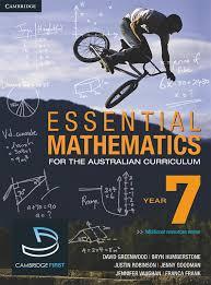 essential mathematics for the australian curriculum first edition