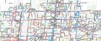 map picture yrt viva system yrt viva