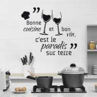 cuisine vin 33 best citations cuisine images on quote wall decals