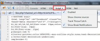Text Decoration Html Firebug Tutorial Web Development Tools W3resource