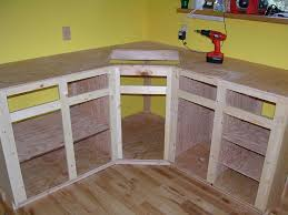 how to make a corner cabinet incredible how to make kitchen cabinets making youtube with regard a