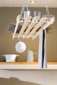 Kitchen Hanging Pot Rack by Pulleymaid Hanging Kitchen Pot U0026 Pan Rack Ceiling Mounted