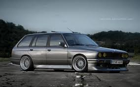 bmw e30 stanced bmw e30 touring by bramdc on deviantart