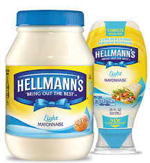 hellmans light mayo nutrition hellmann s light