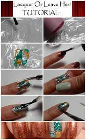 strawberry fields forever nail art tutorial lacquer or leave her tutorial home made decal nail wraps