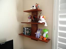 on the shelf accessories accessories contemporary wall mounted cherry wood open shelves