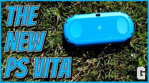 ps vita black friday 2017 the brand new aqua blue playstation vita youtube