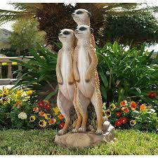 the meerkat sculpture design toscano