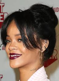 black hairstyles with bun and bangs 50 red carpet hairstyles