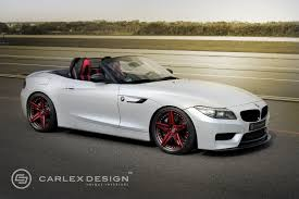 official bmw z4 red carbonic by carlex design gtspirit