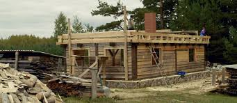 the birth of a wooden house carpentry and resilience in latvia