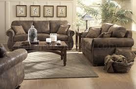Western Living Room Furniture Bomber Jacket Microfiber Western Classic Living Room Sofa