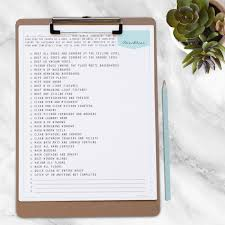 spring cleaning kit 10 documents instant download