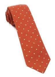 primary dot ties burnt orange ties bow ties and pocket