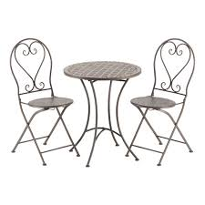 Folding Bistro Table And Chairs Set Awesome Bistro Table And Chair Set For Interior Designing Home