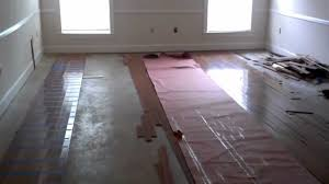 Installation Of Laminate Flooring On Concrete Hardwood Floors Over Concrete Floors Diy Youtube