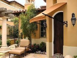 Door Awnings Aluminum Fun Facts About The Aluminum Made Door Awnings Beautiful House