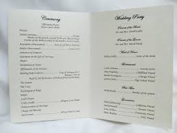 Booklet Wedding Programs Fleur Des Lis Wedding Program U2013 Designs By Ginny