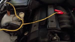 bmw 520i battery location how to jumpstart a car battery from 97 03 bmw 5 series e39 528i