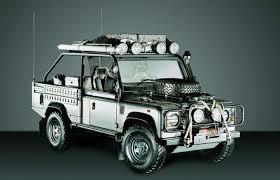 range rover truck in skyfall land rover defender birmingham mail