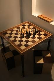 veneered wooden chess board optional chess table set too with