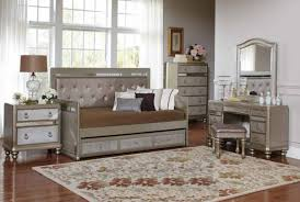bling game daybed with trundle bedroom set 300569 savvy discount