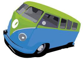 volkswagen bug clip art vw bus by stxd s clip art at clker com vector clip art online