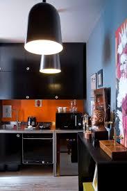 cuisine orange et noir cuisine des photos déco pour s inspirer cannon kitchens