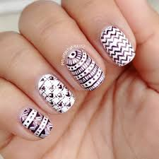87 of the most stunning black and white nail art designs you u0027ve