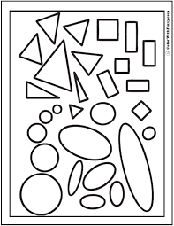 free worksheets shapes coloring sheet free math worksheets